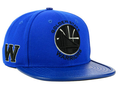 Golden State Warriors Pro Standard NBA Metallic Snapback Cap