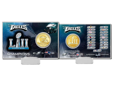 Philadelphia Eagles Coin Card-EVENT