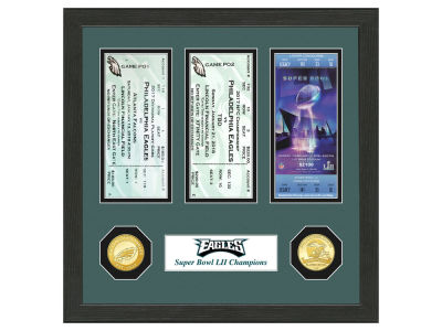 Philadelphia Eagles Minted Coin Ticket Collection