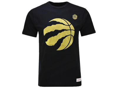 Toronto Raptors Mitchell & Ness NBA Men's Golden Ball T-shirt