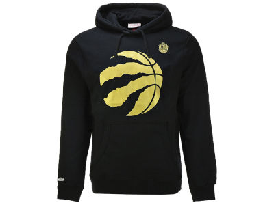 Toronto Raptors Mitchell & Ness NBA Men's Golden Ball Hoodie