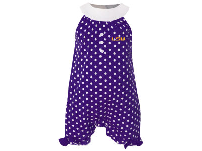 LSU Tigers Garb NCAA Newborn Girls Penny Creeper