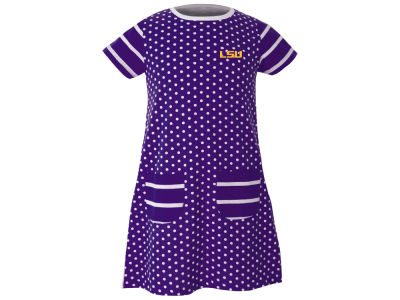 LSU Tigers Garb NCAA Toddler Girls Penny Dress