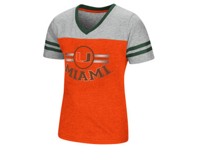 Miami Hurricanes Colosseum NCAA Youth Girls Pee Wee T-Shirt