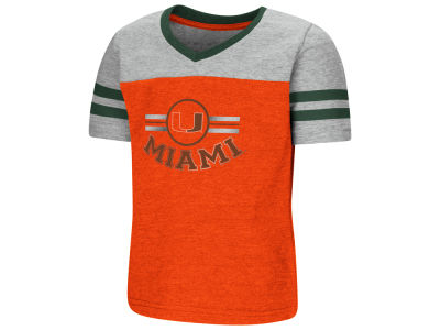 Miami Hurricanes Colosseum NCAA Toddler Girls Pee Wee T-Shirt