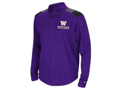 Washington Huskies Colosseum NCAA Youth 99 Yards Quarter Zip Pullover