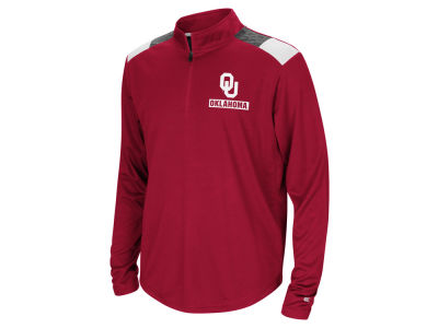 Oklahoma Sooners Colosseum NCAA Youth 99 Yards Quarter Zip Pullover