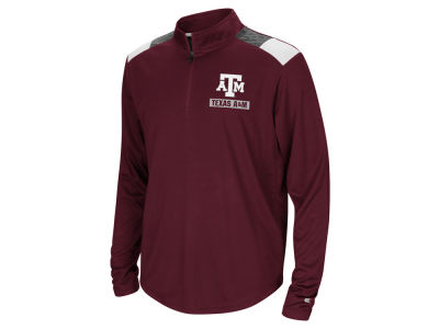 Texas A&M Aggies Colosseum NCAA Youth 99 Yards Quarter Zip Pullover