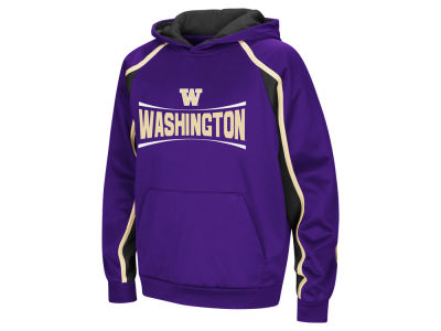 Washington Huskies Colosseum NCAA Youth Poly Pullover Hoodie