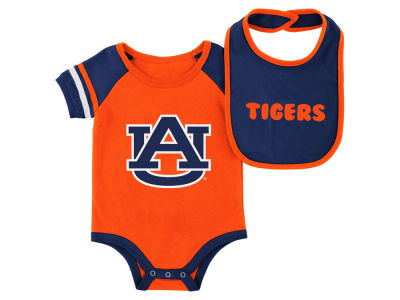 Auburn Tigers Colosseum NCAA Newborn Onesie & Bib Set