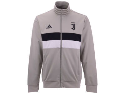 Juventus adidas Men's Club Team 3 Stripe Track Jacket