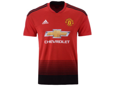 Manchester United adidas Men's Club Team Home Stadium Jersey