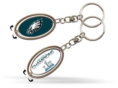Philadelphia Eagles Champ Spinner Keychain
