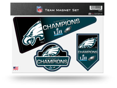 Philadelphia Eagles Champ Magnet Set