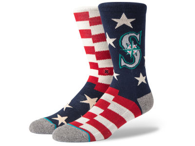 Seattle Mariners Stance Brigade Socks