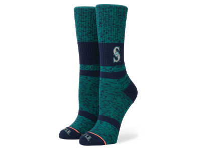 Seattle Mariners Stance MLB Women's Classic Crew Socks