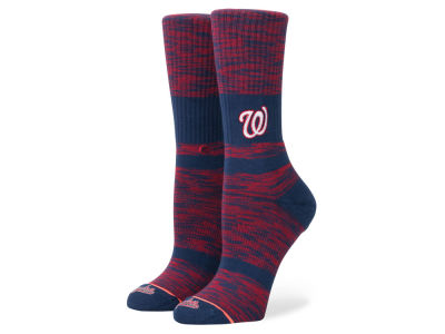 Washington Nationals Stance MLB Women's Classic Crew Socks