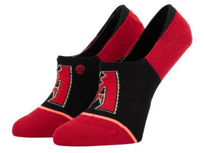 Arizona Diamondbacks Stance MLB Women's Invisible No Show Socks