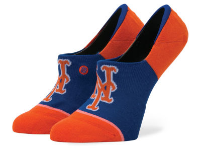 New York Mets Stance MLB Women's Invisible No Show Socks