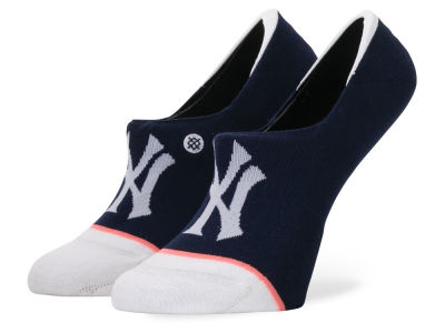 New York Yankees Stance MLB Women's Invisible No Show Socks