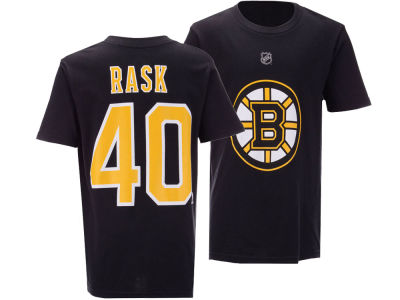 Boston Bruins Tuukka Rask Outerstuff NHL Youth Player T-Shirt
