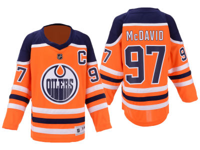 Edmonton Oilers Connor McDavid NHL Branded NHL Youth Player Replica Jersey