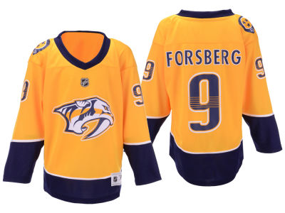 Nashville Predators Filip Forsberg NHL Branded NHL Youth Player Replica Jersey