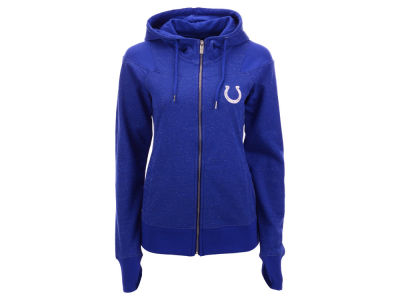 Indianapolis Colts Antigua NFL Women's Lineup Full Zip Hoodie