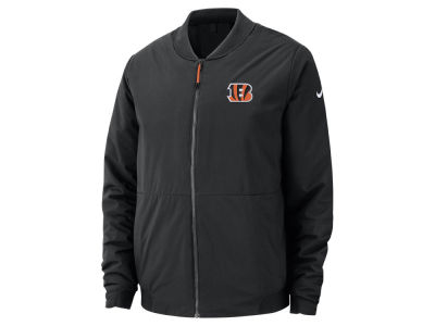 Cincinnati Bengals Nike NFL Men s Bomber Jacket a37b27facf