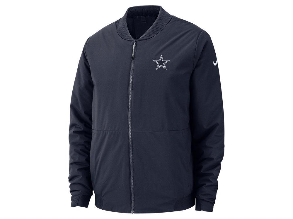 5908dbb65 Dallas Cowboys Nike NFL Men s Bomber Jacket