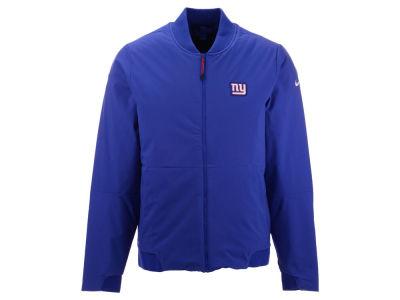 New York Giants Nike NFL Men s Bomber Jacket 1668a3cfa
