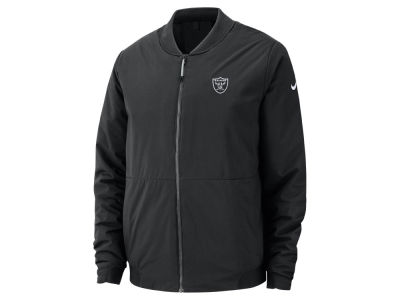 195b6aba8 Oakland Raiders Nike NFL Men s Bomber Jacket