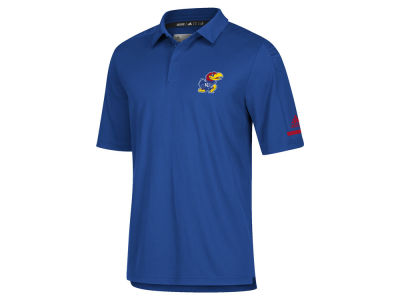Kansas Jayhawks adidas NCAA Men's Team Iconic Coaches Polo