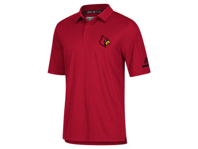 Louisville Cardinals adidas NCAA Men's Team Iconic Coaches Polo