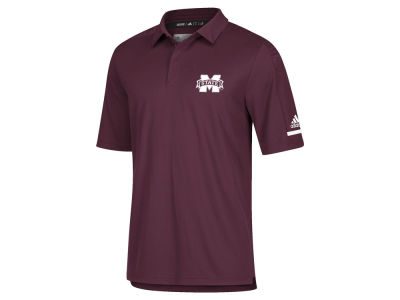 Mississippi State Bulldogs adidas NCAA Men's Team Iconic Coaches Polo