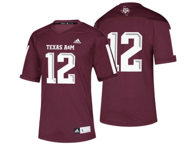 Texas A M Aggies adidas 2018 NCAA Men s Replica Football Jersey 5c3d95ef0