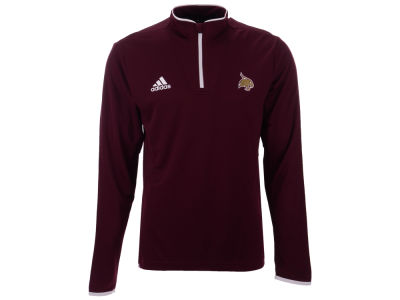 Texas State Bobcats adidas NCAA Men's Team Iconic Quarter Zip Pullover