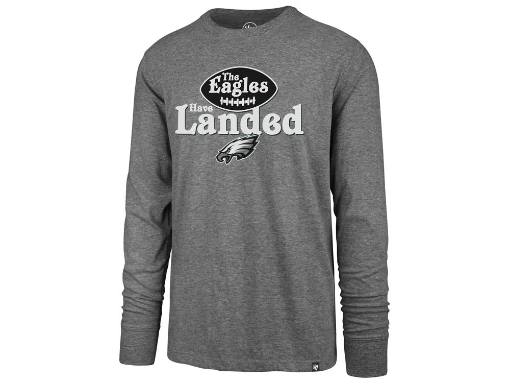 Philadelphia Eagles  47 NFL Men s Regional Slogan Club Long Sleeve T-Shirt   d48546457