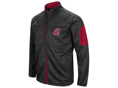 Washington State Cougars Colosseum NCAA Men's Glacier Full Zip Jacket