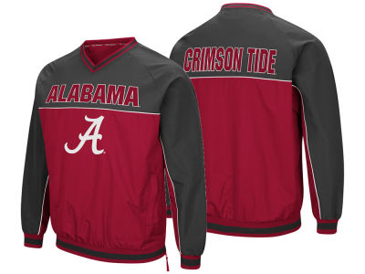 Alabama Crimson Tide Colosseum NCAA Men's Windbreaker Pullover Jacket