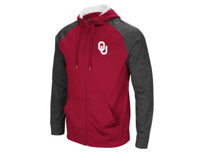 Oklahoma Sooners Colosseum NCAA Men's Magic Rays Full Zip Hooded Sweatshirt