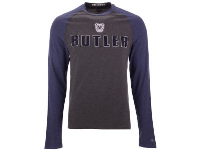 Butler Bulldogs Colosseum NCAA Men's Social Skills Long Sleeve Raglan T-shirt