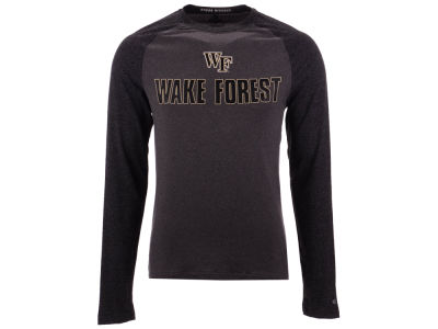 Wake Forest Demon Deacons Colosseum NCAA Men's Social Skills Long Sleeve Raglan T-shirt