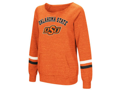 Oklahoma State Cowboys Colosseum NCAA Women's Off the Shoulder Fleece Sweatshirt