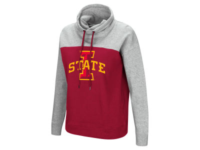 Iowa State Cyclones Colosseum NCAA Women's Logo Funnel Neck Hooded Sweatshirt