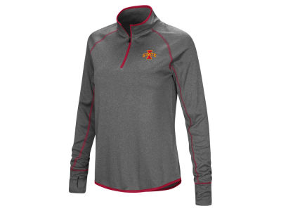Iowa State Cyclones Colosseum NCAA Women's Shark Quarter Zip Pullover