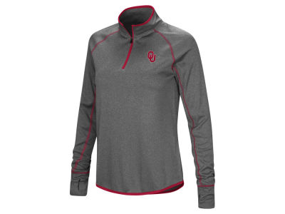 Oklahoma Sooners Colosseum NCAA Women's Shark Quarter Zip Pullover