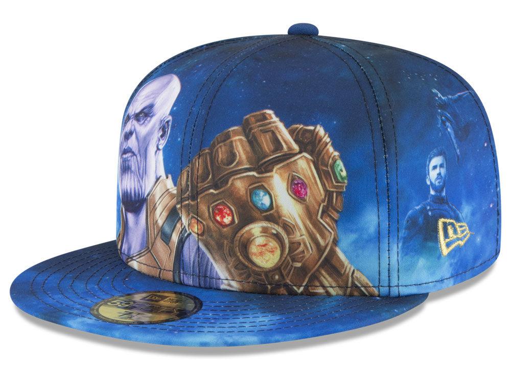 94c49042398 New Era Infinity War All Over Avengers 59FIFTY Cap