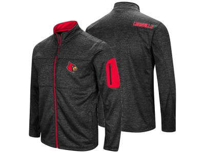 Louisville Cardinals Colosseum NCAA Men's Glacier Full Zip Jacket