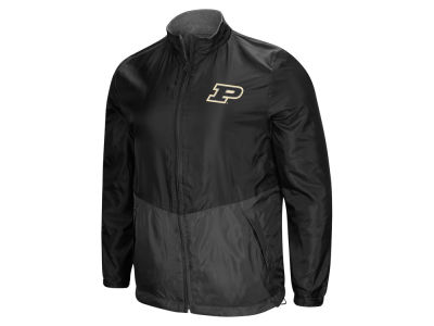 Purdue Boilermakers Colosseum NCAA Men's Halfback Option Reversible Full Zip Jacket